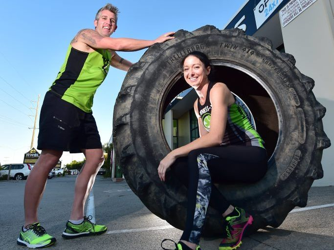 Kate Clark will represent Australia in the obstacle world championships to be held in Ohio USA in October. Paul and Kate Clark.