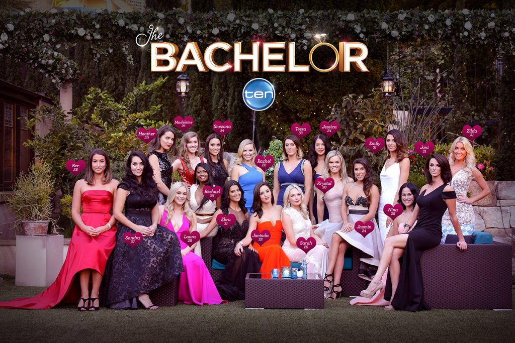The 2015 Bachelorettes who will feature in the TV series The Bachelor.