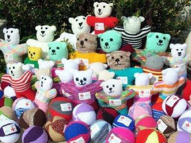Trauma teddies need creators Coffs Coast Advocate
