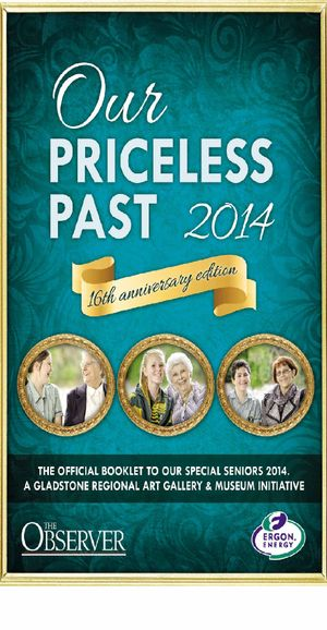 The 2014 edition of Our Priceless Past.