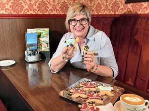 Queenslander! Shingle Inn cookies take up Origin spirit