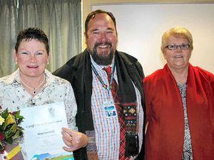 Ceremony awards long serving Darling Downs nurses