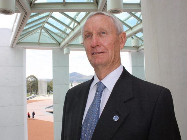 HANGING UP THE HAT: Maranoa MP Bruce Scott announced he will retire at the next election.