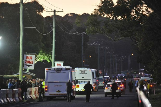 A bus home might be the safest option after the Coffs Harbour Gold Cup on Thursday.