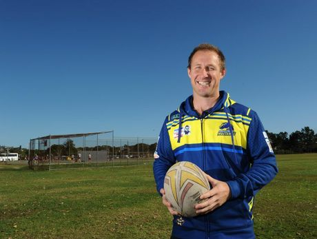 Murwillumbah Mustangs coach Damien Quinn. Photo: John Gass / Tweed Daily News