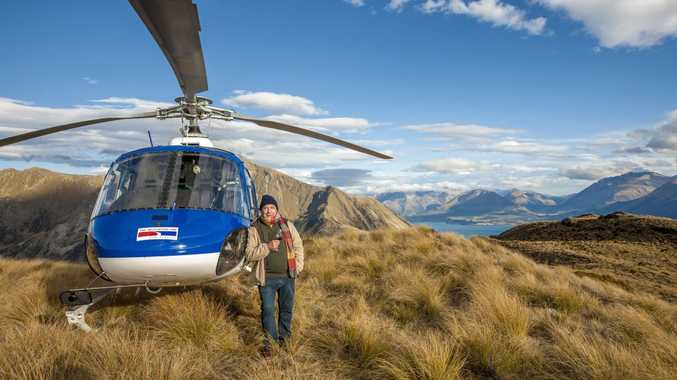 TASTE OF LIFE: Veteran Kiwi actor Roy Billing recently sampled the latest tour put together by helloworld and AAT Kings for baby boomers seeking action and adventure. Photo: Contributed