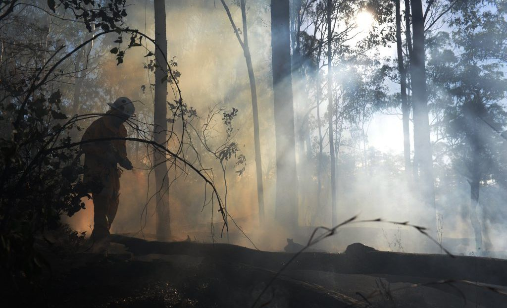Rural Fire Service NSW has asked that locals be prepared in case fire threatens their home.