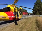 The Pacific Highway is closed in both directions following a serious two-car collision 2km south of Broadwater.