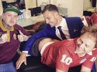 GYMPIE-raised tattoo artist meets heros on The Footy Show
