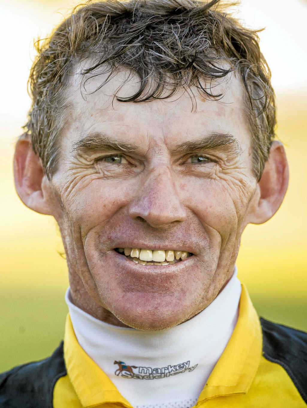 CAN HE DO IT AGAIN? Jockey Robert Thompson after winning his fourth Ramornie at Grafton last year.