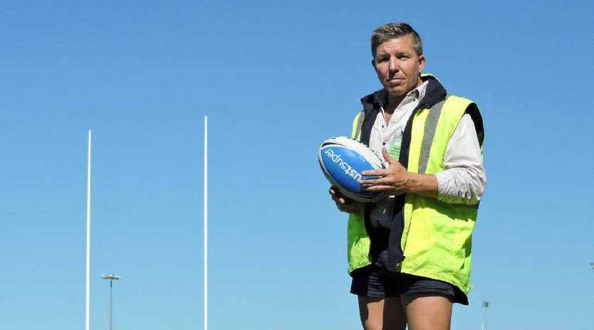 CUTTERS CALLING: Mackay Cutters assistant coach David Simpson will have to move from a job in the construction industry to become the Cutters full-time head coach