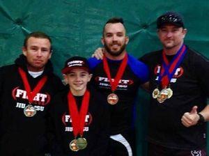Mackay jiu jitsu club wrestles gold from southerners