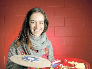 Artist finds her passion in puzzle pieces