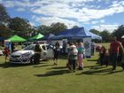 Police at the Naidoc Week celebrations in Queens Park.