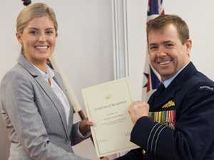 Toowoomba girl's career soars with RAAF