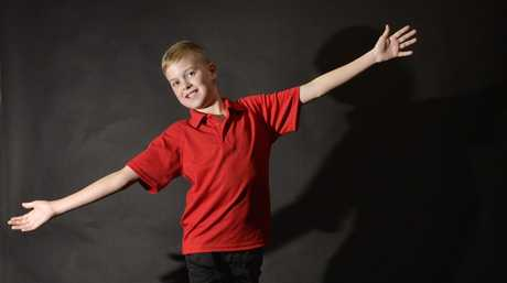 Jackson Eastwood, 12, has been offered a place at the Australian Musical Theatre Workshop. Photo Inga Williams / The Queensland Times