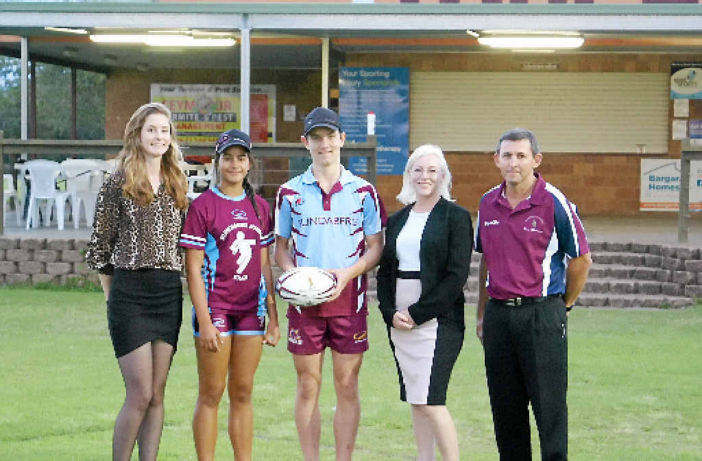GAME ON: The Bundaberg Touch Football Association was one of the community groups to receive $31818.18 for an extension to its current clubhouse.