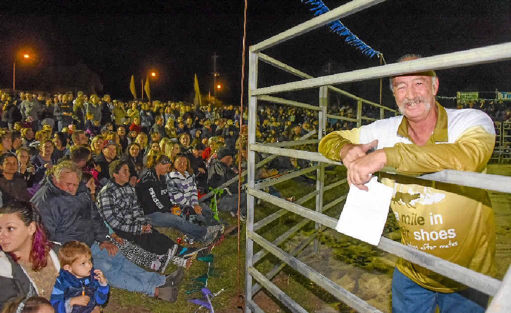 PROUD: Bullarama event organiser Jack Lumby.PHOTO: MEL DEACON / PRETTY FLASH IMAGES