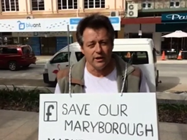 Business reaction to Maryborough Markets Council decision