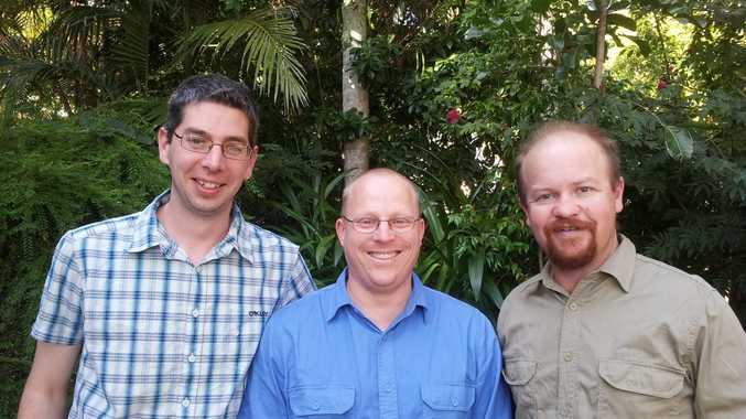 Peace Pilgrims Simon Reeves, Rev. Simon Moyle & Greg Rolles