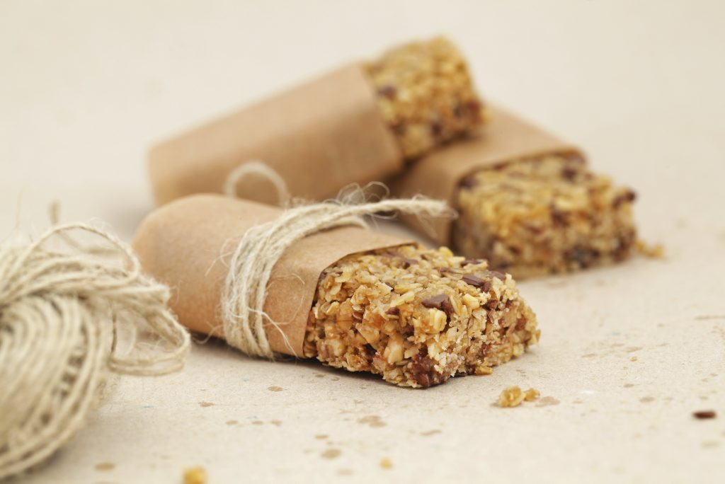 Choose healthy bars to snack on, as some can contain more sugar than chocolates.