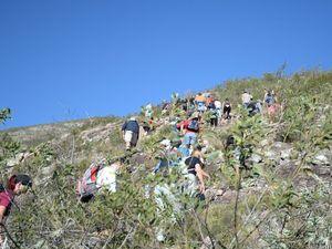 Gawula hike during NAIDOC week