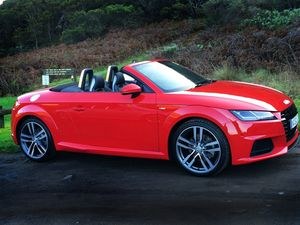 Sexy and sophisticated Audi TT Roadster arrives