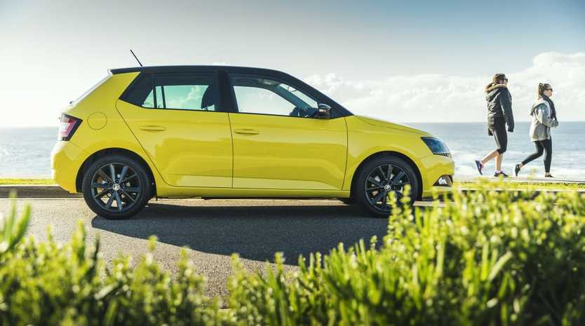 BRIGHT SPARK: New Fabia brings superior infotainment, funky colours and a bargain wagon variant