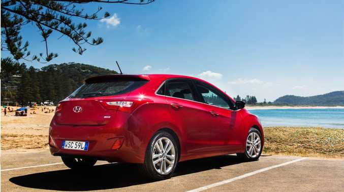 SALES SUCCESS: i30 sold in record numbers in June, but can it catch Toyota Corolla and Mazda3 for the top prize for 2015?