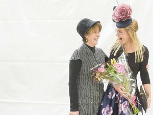 Grafton Cup day fashions on the field