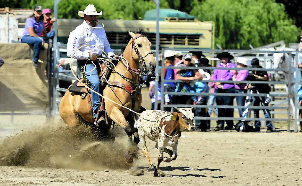 BACK IN THE SADDLE: Shane Kenny will be competing in the Emerald rodeo.