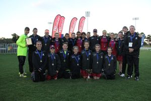 Queensland was crowned the 13 Years national champion at the 2015 Westfield National Youth Championships for Girls played in Coffs Harbour.
