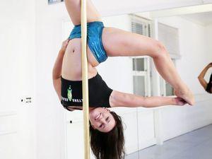 Pole dancing nurse tests tenacity at state titles
