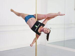 Pole dancer Jessica Thalborne