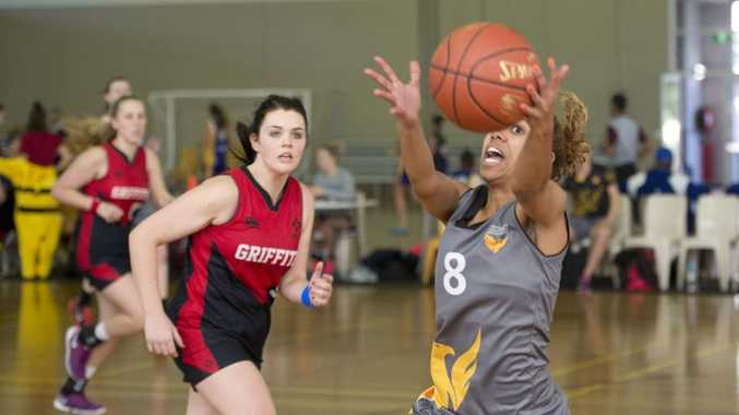 Despena Dickerson starred on the court for USQ.