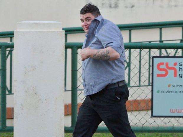Jayden Halcro received a suspended eight-month jail sentence.