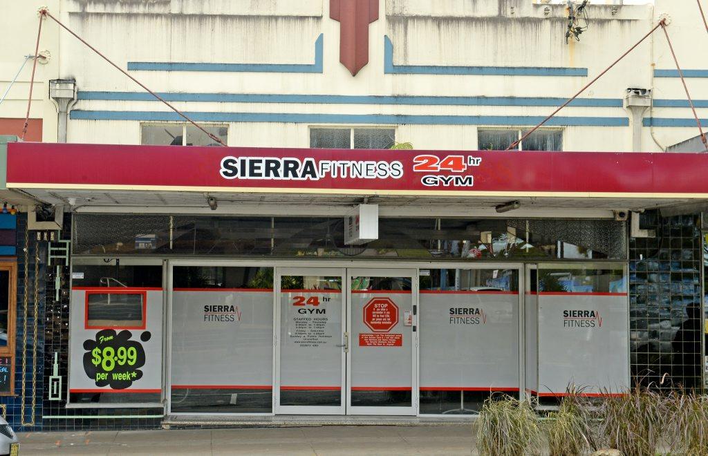 Sierra Fitness in Murwillumbah where a man was found dead. Photo: Blainey Woodham / Tweed Daily News