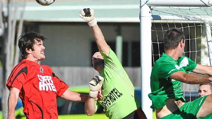 RIVALS: Coffs United and Sawtell play at McLean St tomorrow.