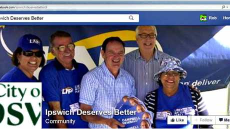 "ONLINE ANTICS: Cr David Pahlke says Jo-Ann Miller's staffer Steve Axe should come clean about his connection with the Ipswich Deserves Better website, which he said was ""attacking Ipswich all the time"""