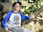 STRONG YOUTH: Mitchell Luders is battling one of the rarest forms of neuroblastoma.