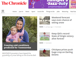 Chronicle's online news keeps all of us connected