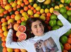 Francesca Rees, 9 at Nambour Showground for the Queensland Garden Expo. Photo: John McCutcheon / Sunshine Coast Daily