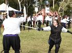 The 2015 Abbey Medieval Festival was once again full of jousting, reenactments and general fun.