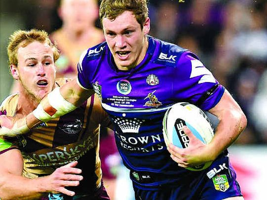 Kurt Mann of the Storm will boost the Falcons in tomorrow's match against Tweed Heads.