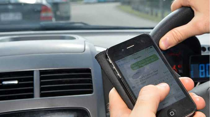 Texting while driving is one of the main dangers facing young people.