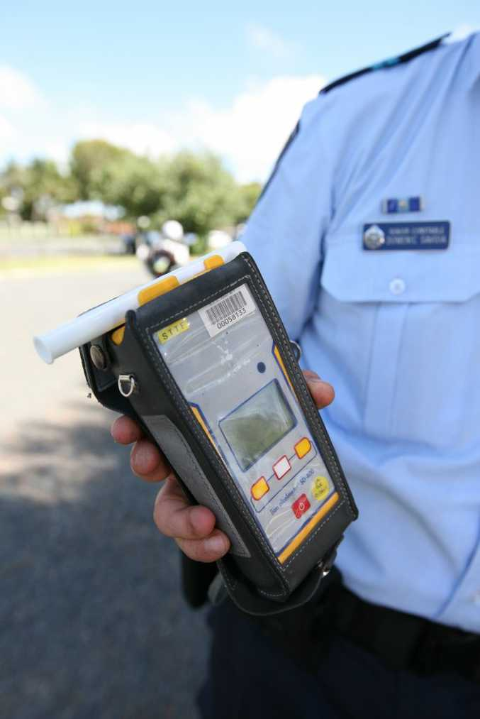 The breathalyser machine is an essential part of the inside the 'Fatal 4 - Highway Patrol Police Car's accessories.