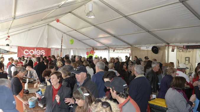 at the Ballina Food and Wine festival. Photo Mireille Merlet-Shaw / Northern Star