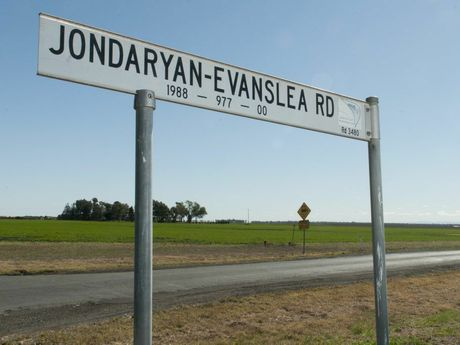 A woman is dead and two men are in a critical condition after a car rollover on Jondaryan-Evanslea Rd.