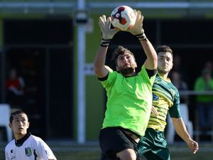 Knights face goalkeeping problem along with home issues