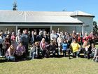 Attendees at the Fraser Coast Community Unites/March Australia rally organised by state candidate Jannean Dean.